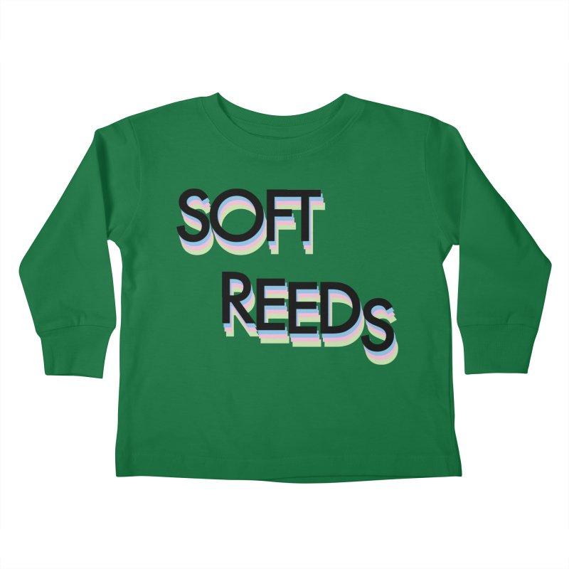 SOFT-5 Kids Toddler Longsleeve T-Shirt by softreeds's Artist Shop