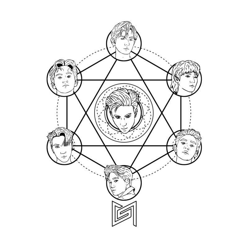 The Cult of Taemin (Super M) Black Version by Soju Nights Fanart Emporium