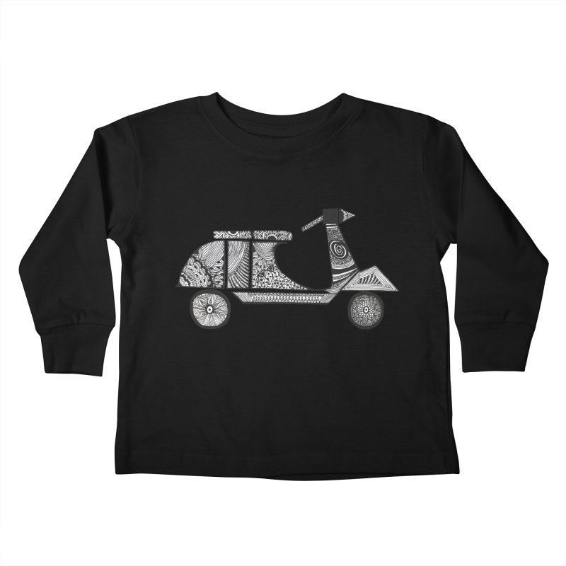 indieRide Kids Toddler Longsleeve T-Shirt by solidArtee