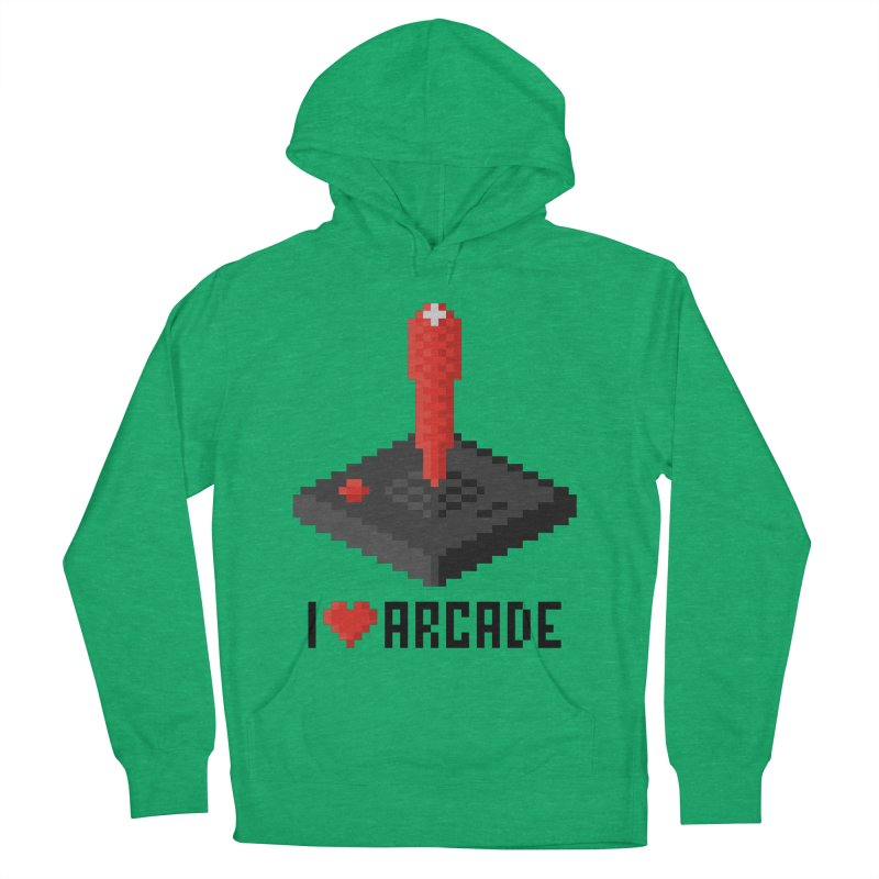 I Love Arcade Men's Pullover Hoody by solopixel's Artist Shop