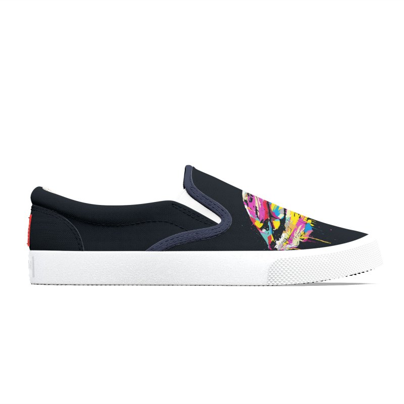 Colorful lips Women's Shoes by Balazs Solti