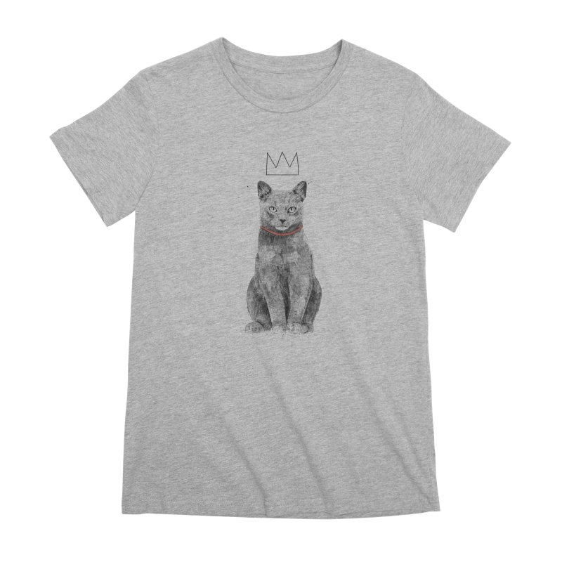 King of everything Women's Premium T-Shirt by Balazs Solti