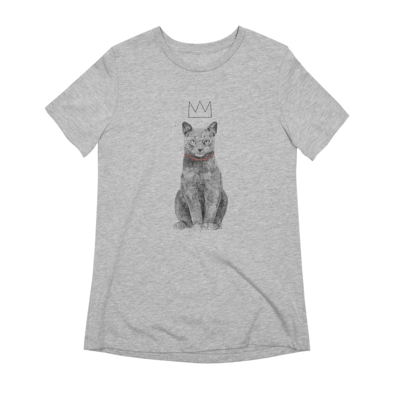 King of everything Women's Extra Soft T-Shirt by Balazs Solti