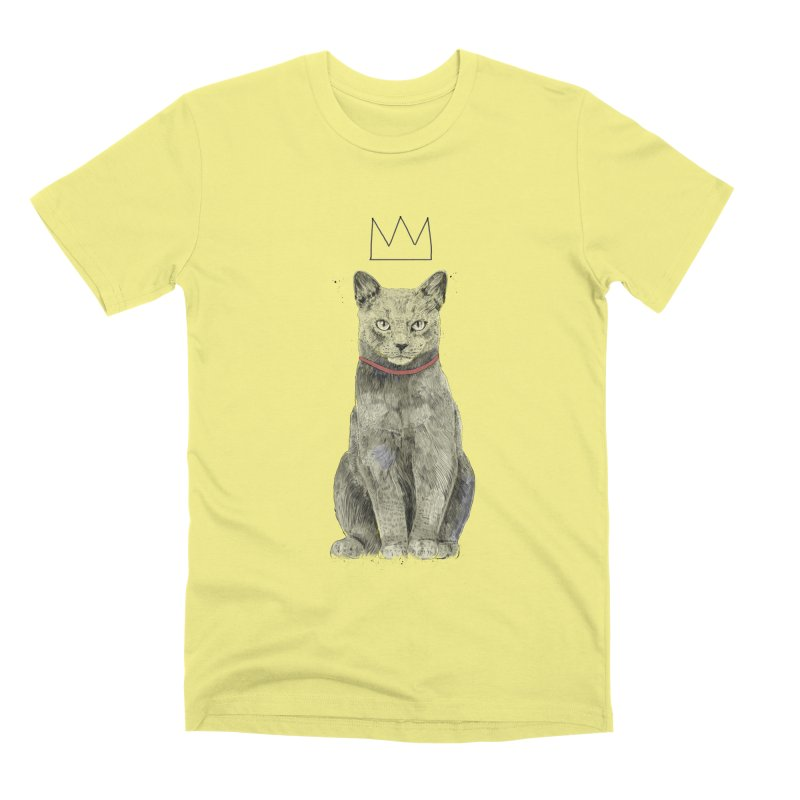 King of everything Men's Premium T-Shirt by Balazs Solti