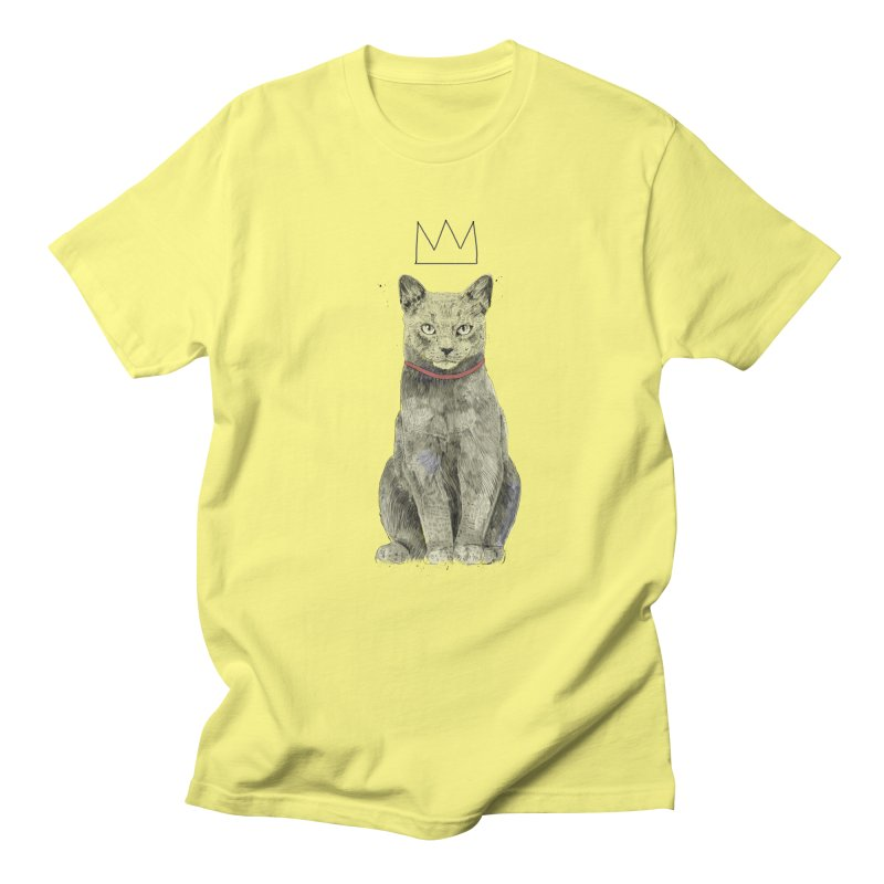 King of everything Men's Regular T-Shirt by Balazs Solti