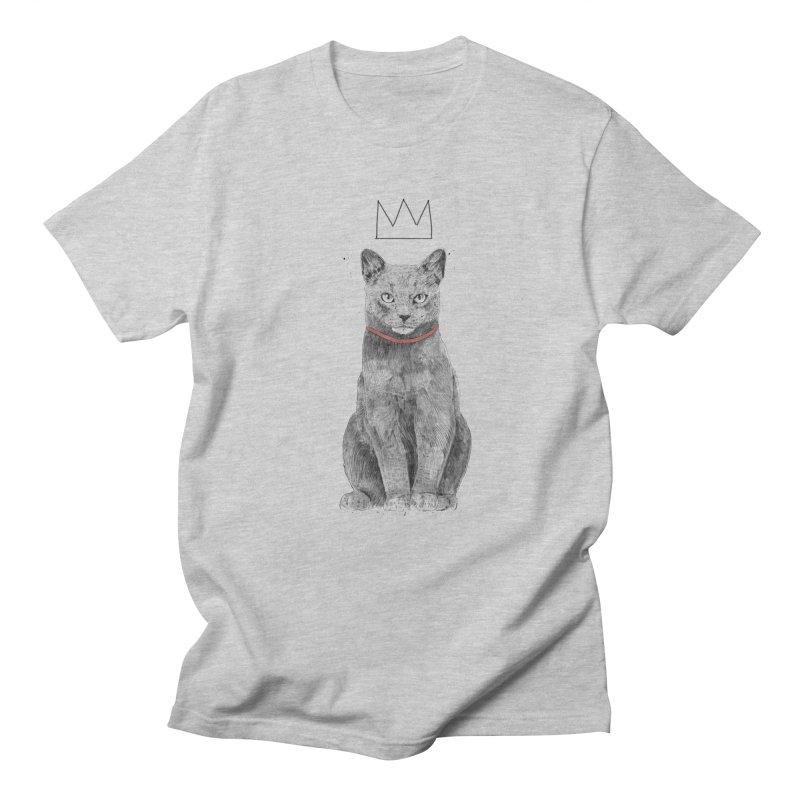 King of everything Men's Regular T-Shirt by Balazs Solti