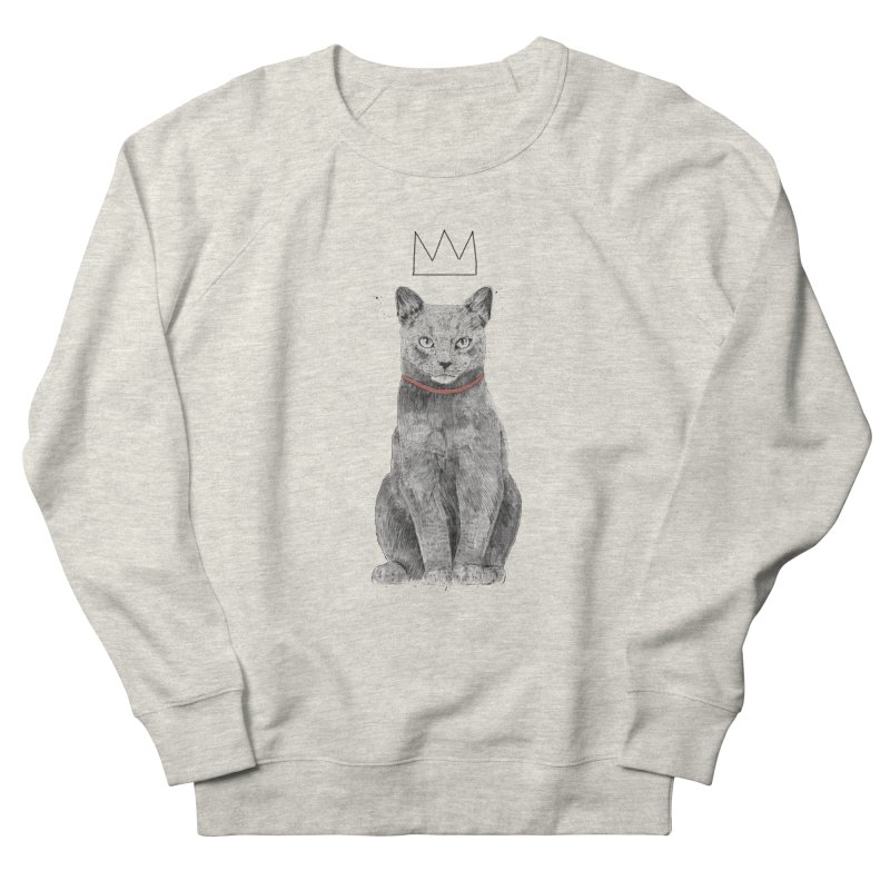 King of everything Men's French Terry Sweatshirt by Balazs Solti
