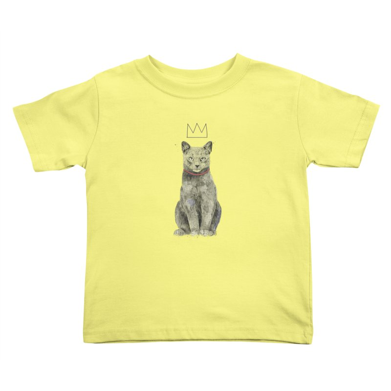 King of everything Kids Toddler T-Shirt by Balazs Solti