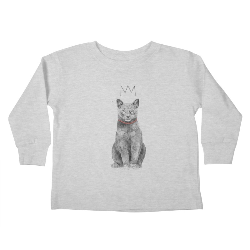 King of everything Kids Toddler Longsleeve T-Shirt by Balazs Solti