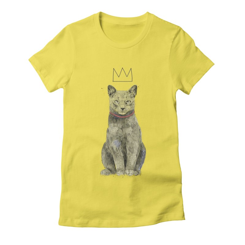 King of everything Women's T-Shirt by Balazs Solti