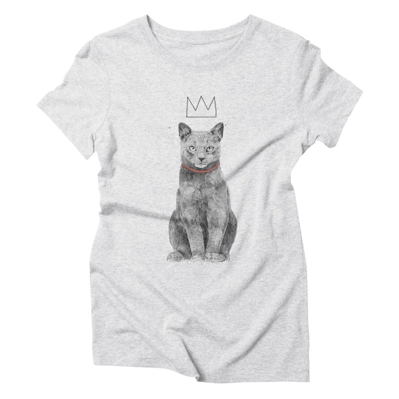 King of everything Women's Triblend T-Shirt by Balazs Solti
