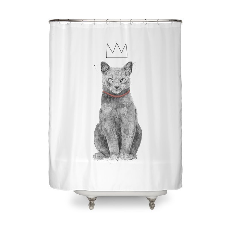 King of everything Home Shower Curtain by Balazs Solti