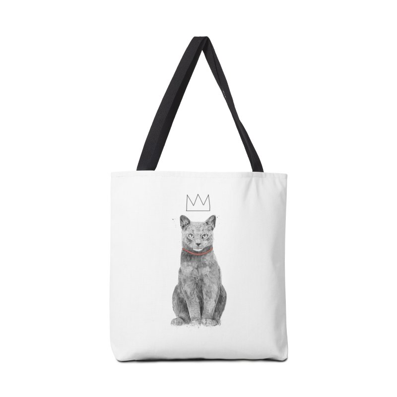 King of everything Accessories Tote Bag Bag by Balazs Solti