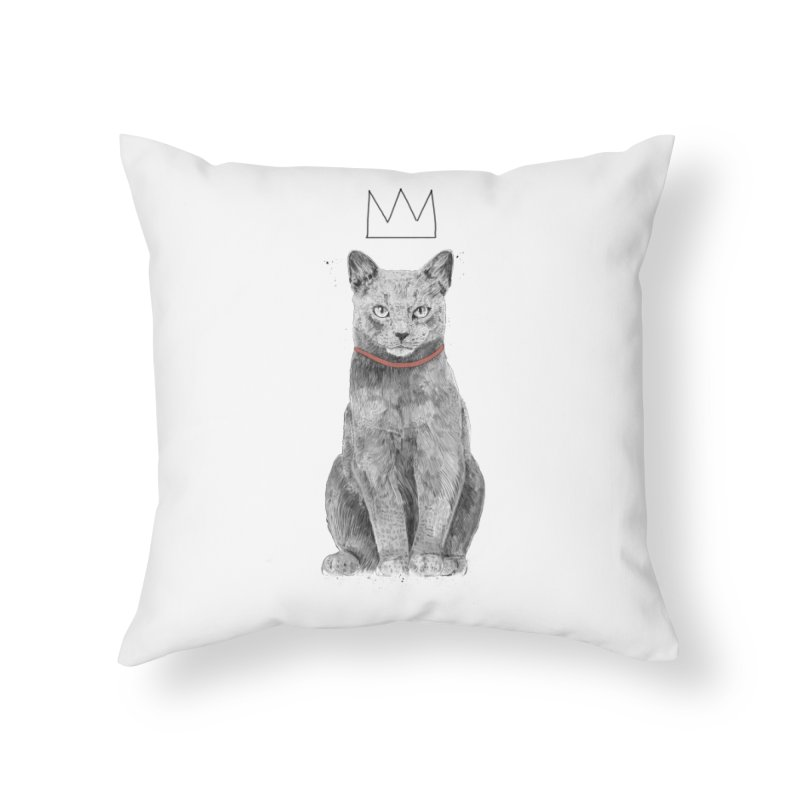 King of everything Home Throw Pillow by Balazs Solti