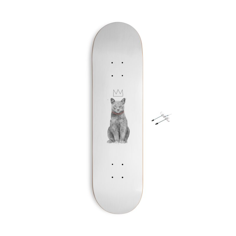 King of everything Accessories With Hanging Hardware Skateboard by Balazs Solti