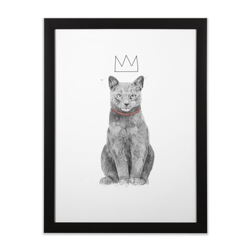 King of everything Home Framed Fine Art Print by Balazs Solti