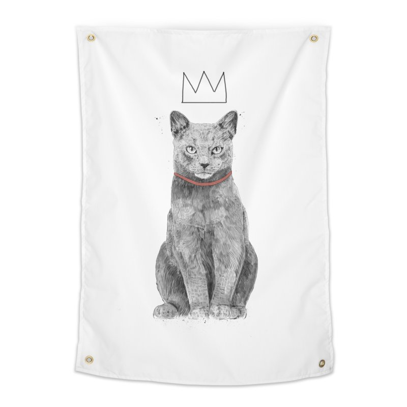 King of everything Home Tapestry by Balazs Solti