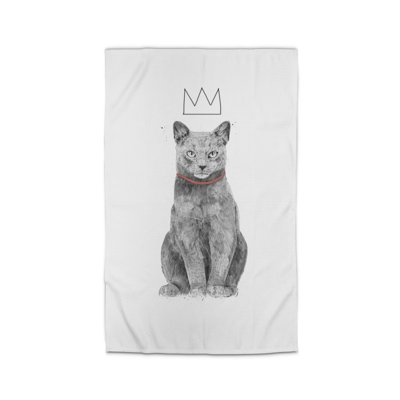King of everything Home Rug by Balazs Solti