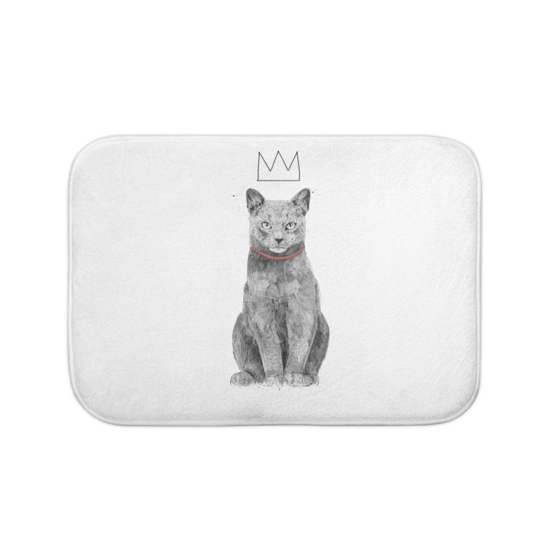 King of everything Home Bath Mat by Balazs Solti