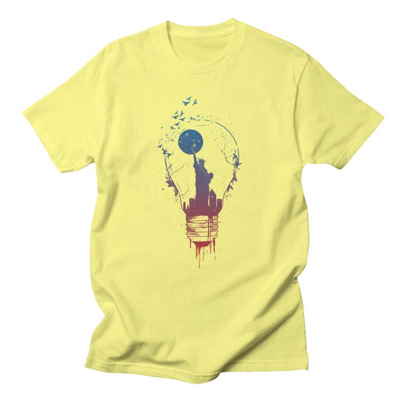 New York City Lights Women's T-Shirt by Balazs Solti