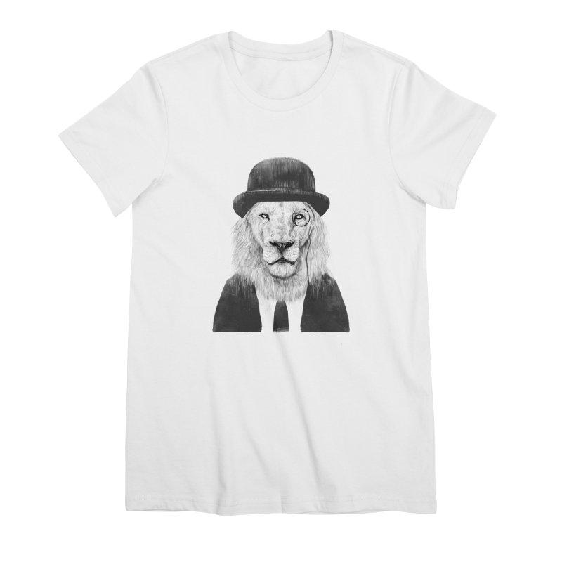 Sir lion Women's T-Shirt by Balazs Solti
