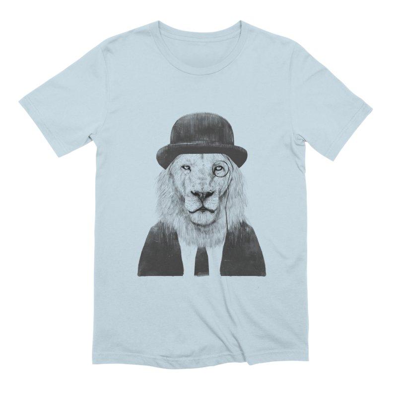 Sir lion Men's Extra Soft T-Shirt by Balazs Solti