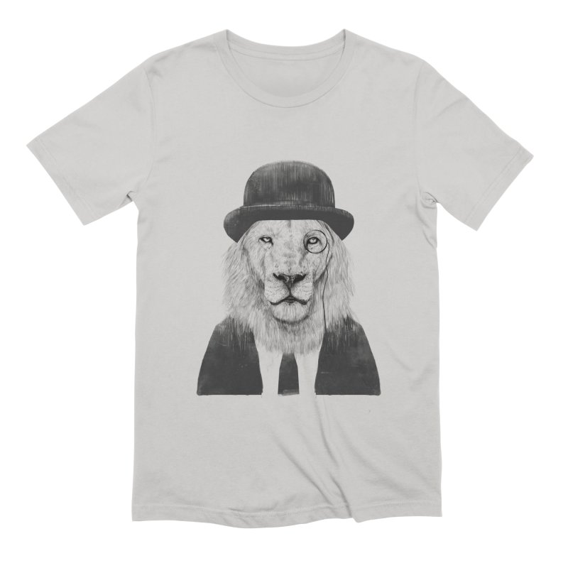 Sir lion Men's Extra Soft T-Shirt by Balazs Solti