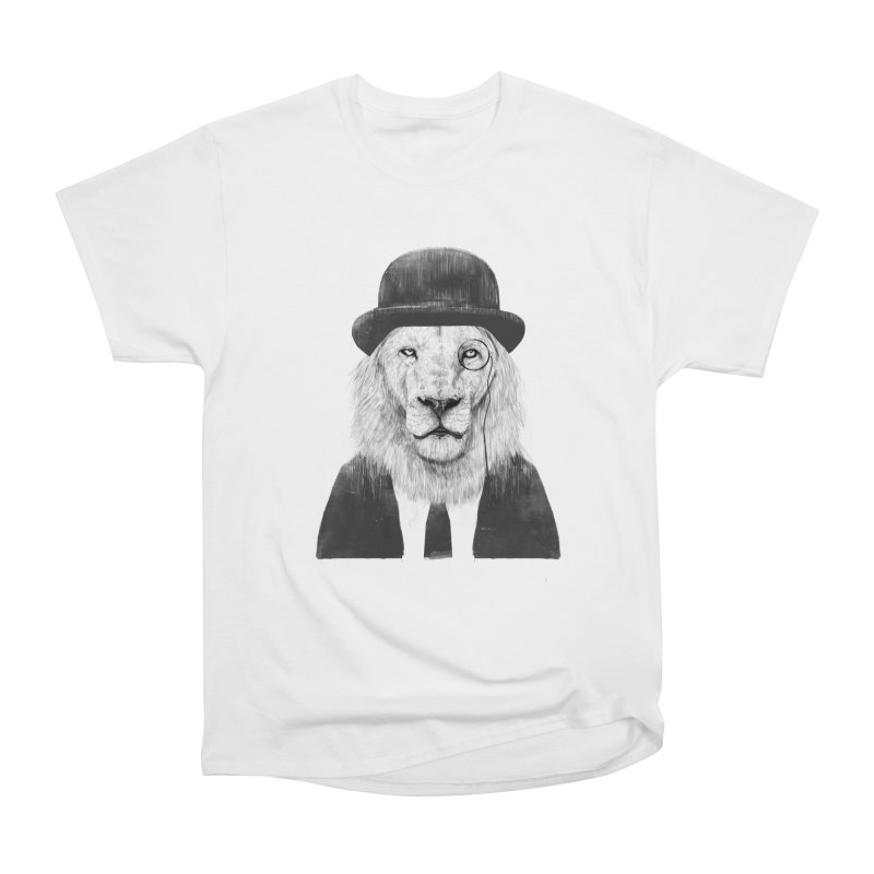 Sir lion Men's T-Shirt by Balazs Solti