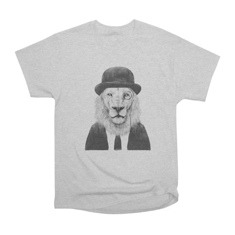 Sir lion Women's Heavyweight Unisex T-Shirt by Balazs Solti