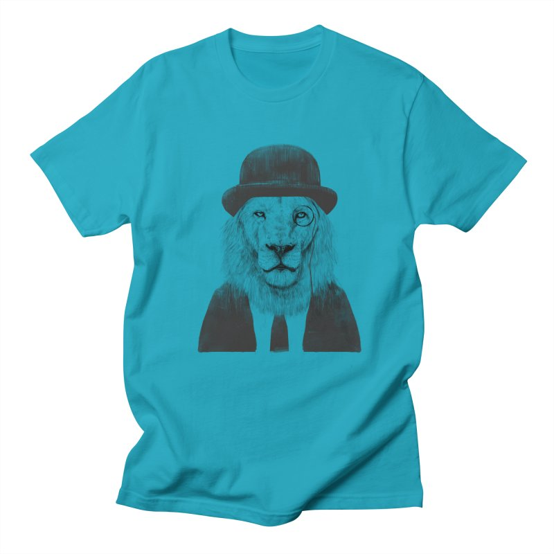 Sir lion Women's Regular Unisex T-Shirt by Balazs Solti