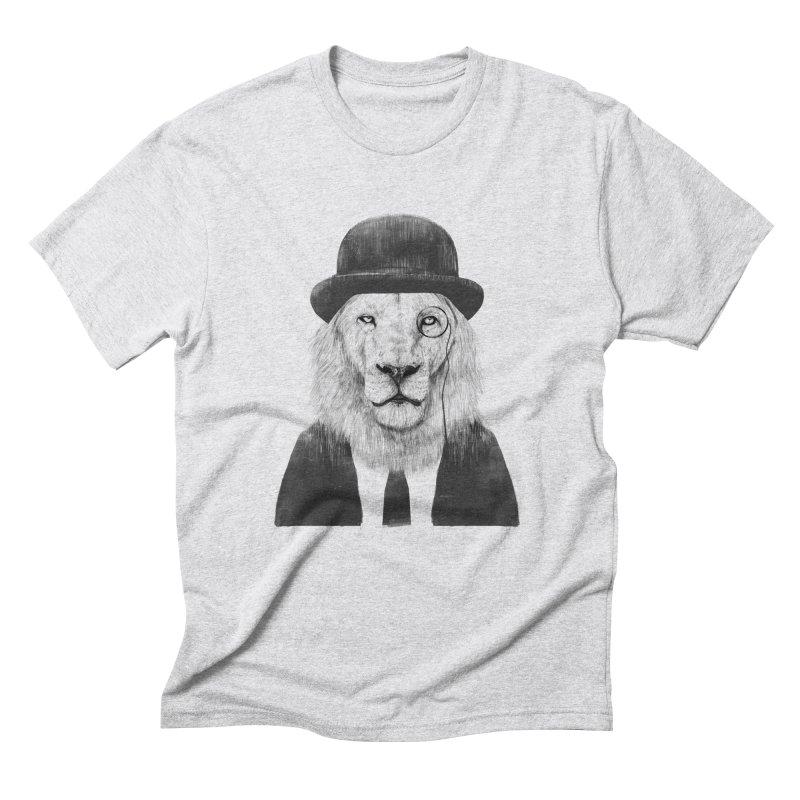 Sir lion Men's Triblend T-Shirt by Balazs Solti