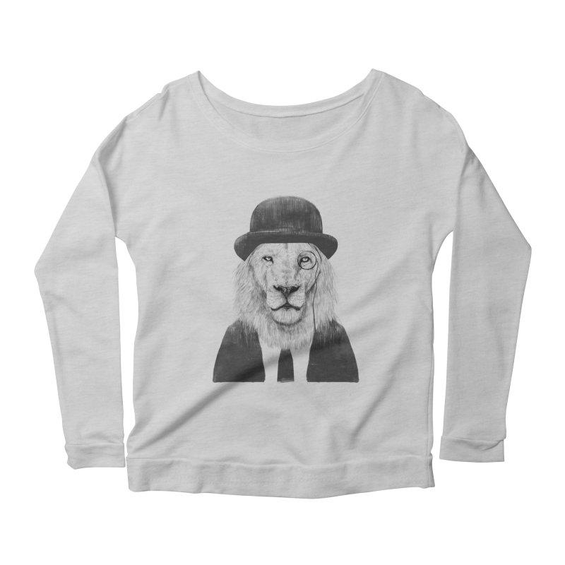 Sir lion Women's Longsleeve T-Shirt by Balazs Solti