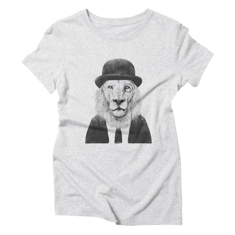 Sir lion Women's Triblend T-Shirt by Balazs Solti