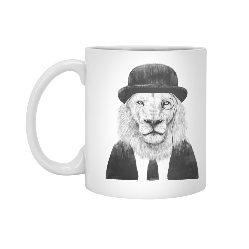 Sir lion Accessories Standard Mug by Balazs Solti
