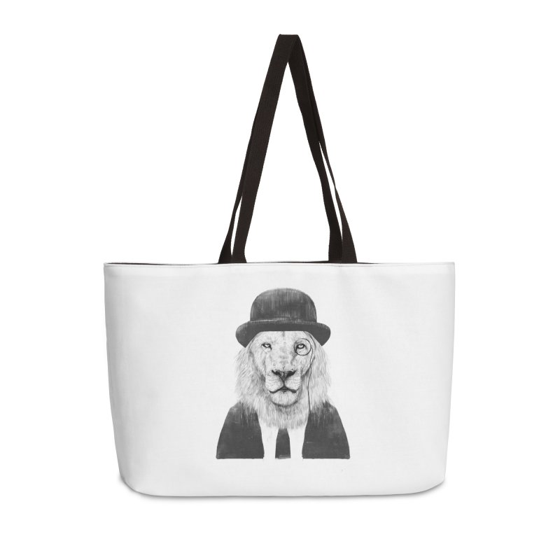 Sir lion Accessories Weekender Bag Bag by Balazs Solti