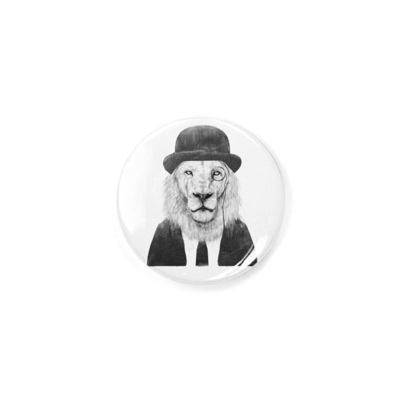 Sir lion Accessories Button by Balazs Solti