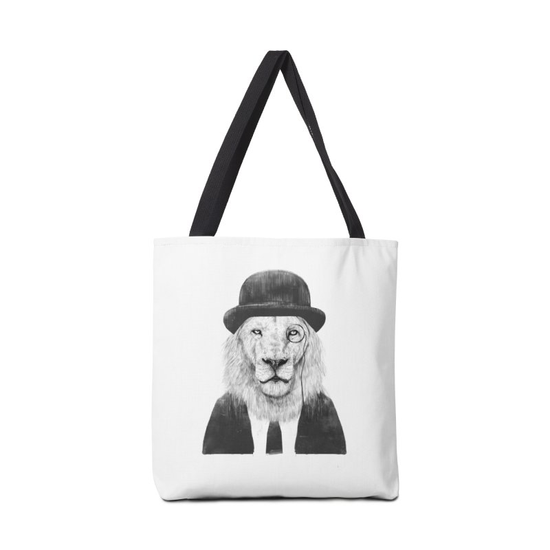 Sir lion Accessories Tote Bag Bag by Balazs Solti