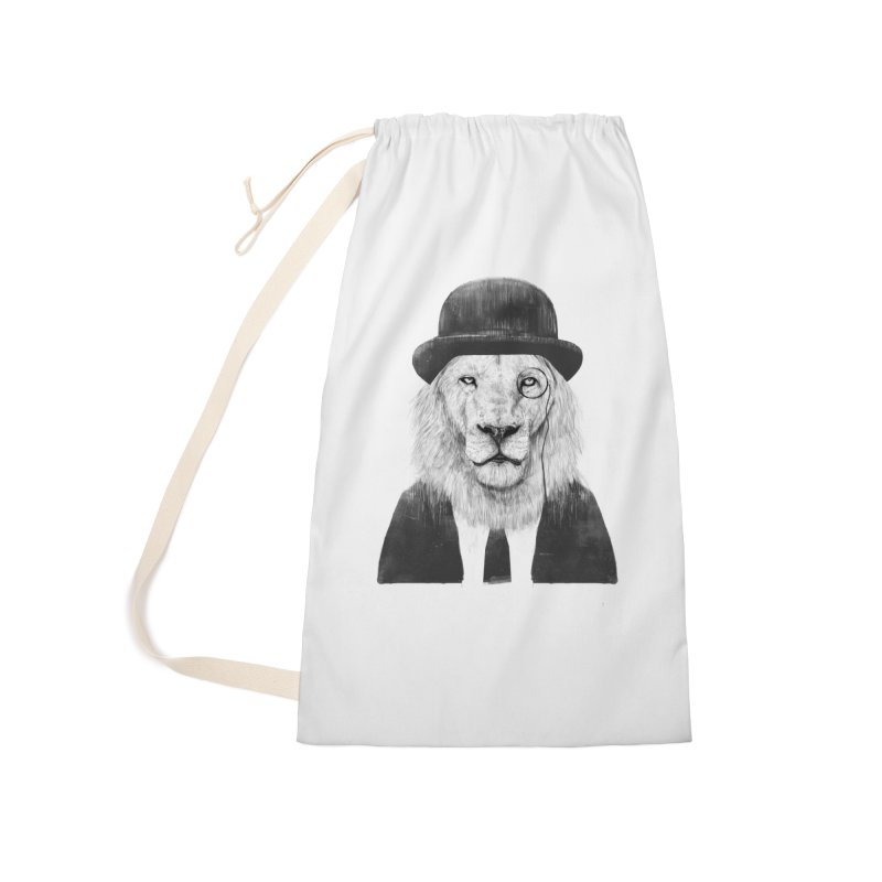 Sir lion Accessories Laundry Bag Bag by Balazs Solti