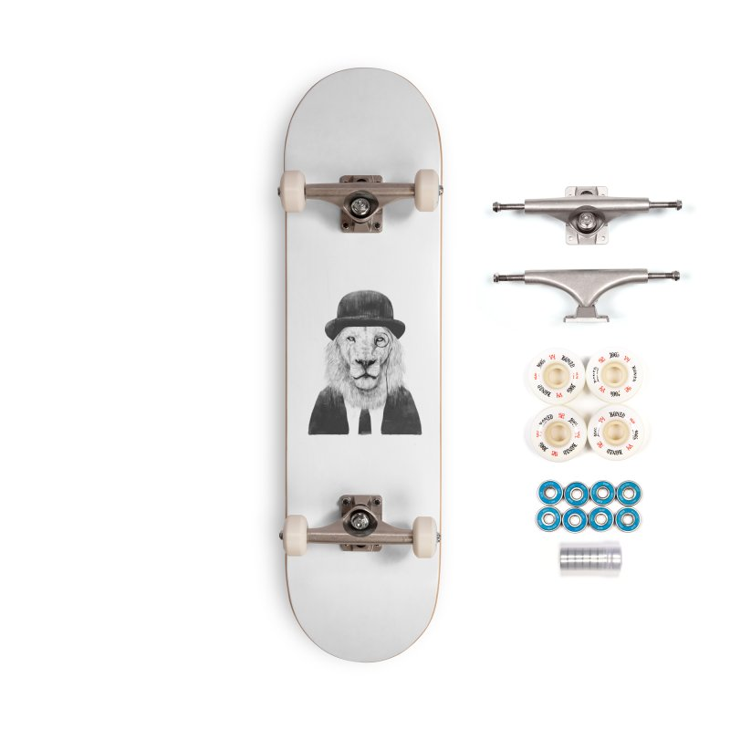 Sir lion Accessories Complete - Premium Skateboard by Balazs Solti