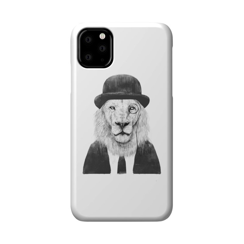 Sir lion Accessories Phone Case by Balazs Solti