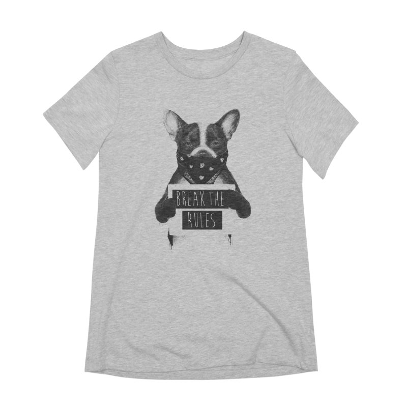Rebel dog Women's Extra Soft T-Shirt by Balazs Solti