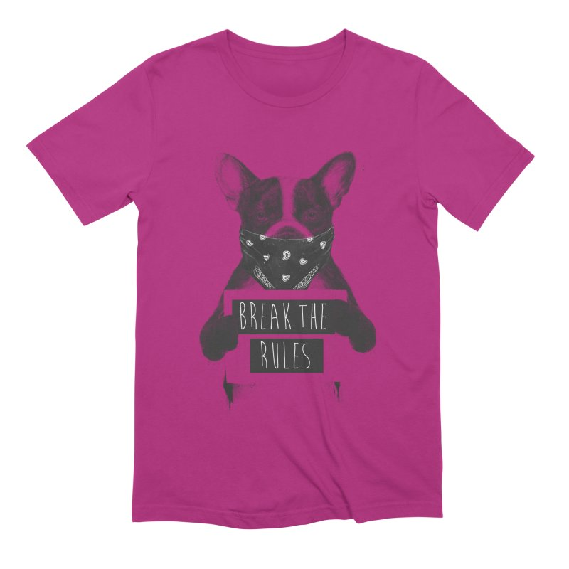 Rebel dog Men's Extra Soft T-Shirt by Balazs Solti