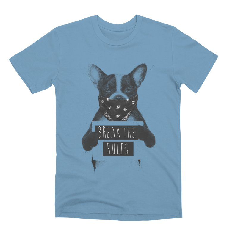 Rebel dog Men's Premium T-Shirt by Balazs Solti