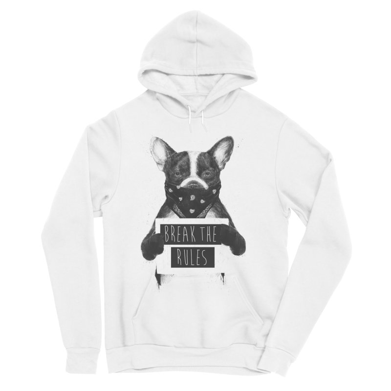 Rebel dog Men's Pullover Hoody by Balazs Solti