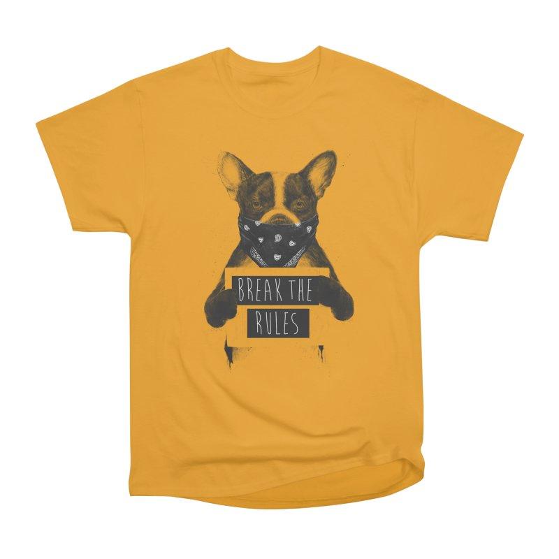 Rebel dog Men's Heavyweight T-Shirt by Balazs Solti