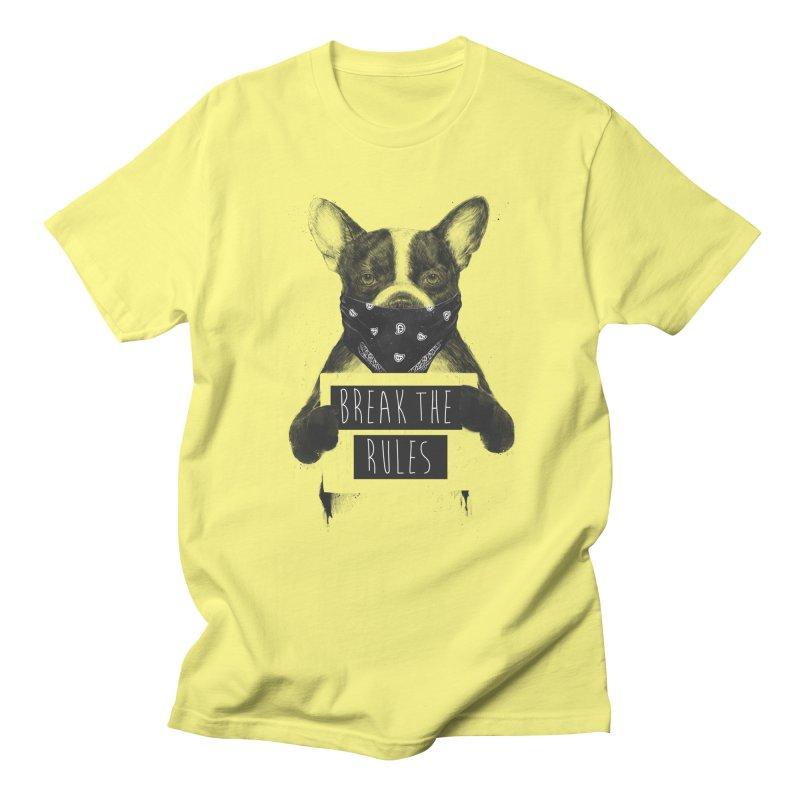 Rebel dog Men's T-Shirt by Balazs Solti