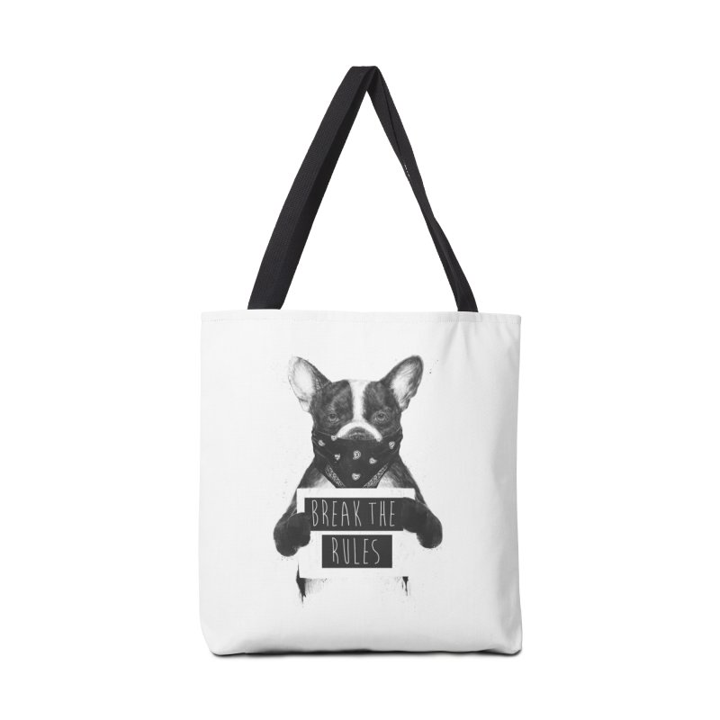 Rebel dog Accessories Tote Bag Bag by Balazs Solti