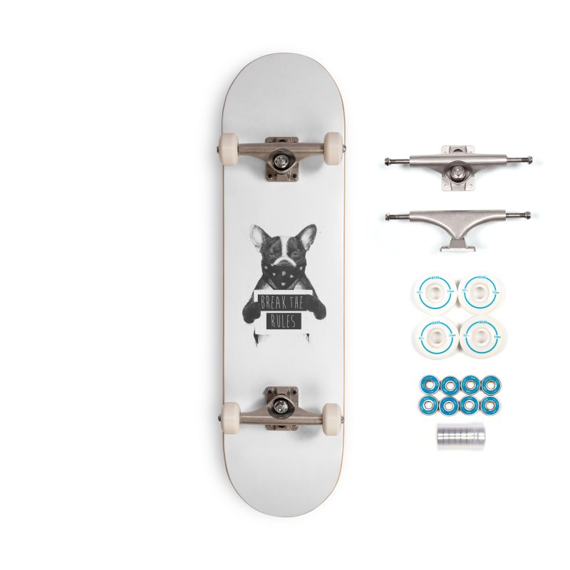 Rebel dog Accessories Complete - Basic Skateboard by Balazs Solti