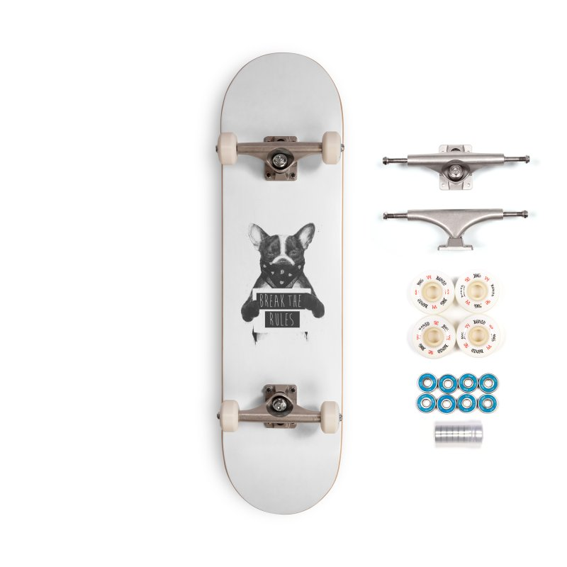 Rebel dog Accessories Complete - Premium Skateboard by Balazs Solti