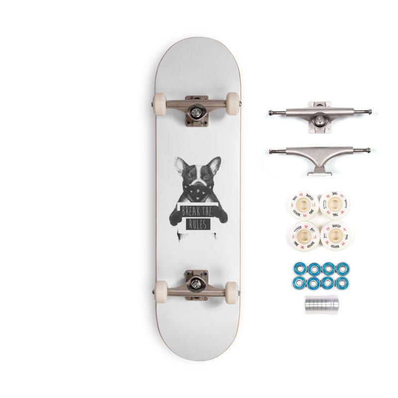 Rebel dog Accessories Skateboard by Balazs Solti